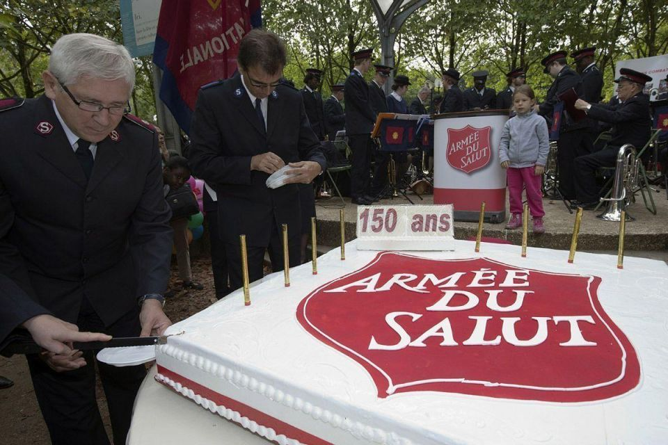 Salvation Army celebrates 150 years of charity work