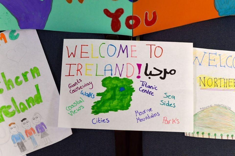 Ireland to welcome Syrian refugees