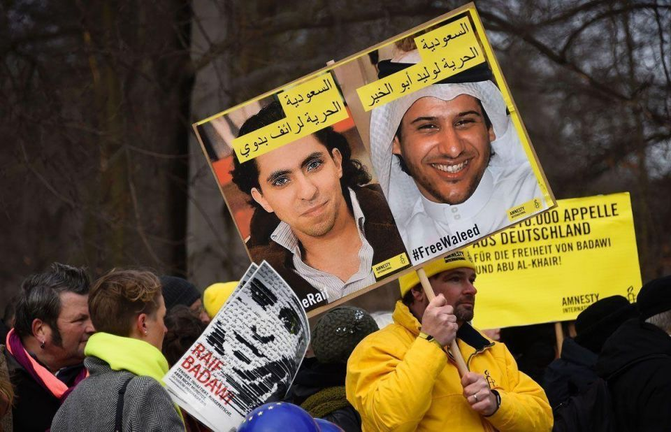 #FreeRaif protests in Berlin