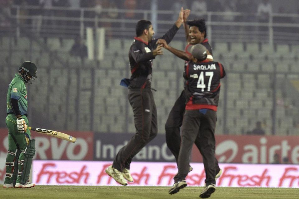 Pakistan vs. UAE at Asia Cup T20 tournament – in pictures