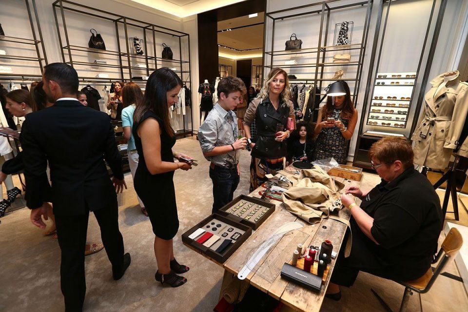 Burberry celebrates Art of the Trench Middle East in Dubai