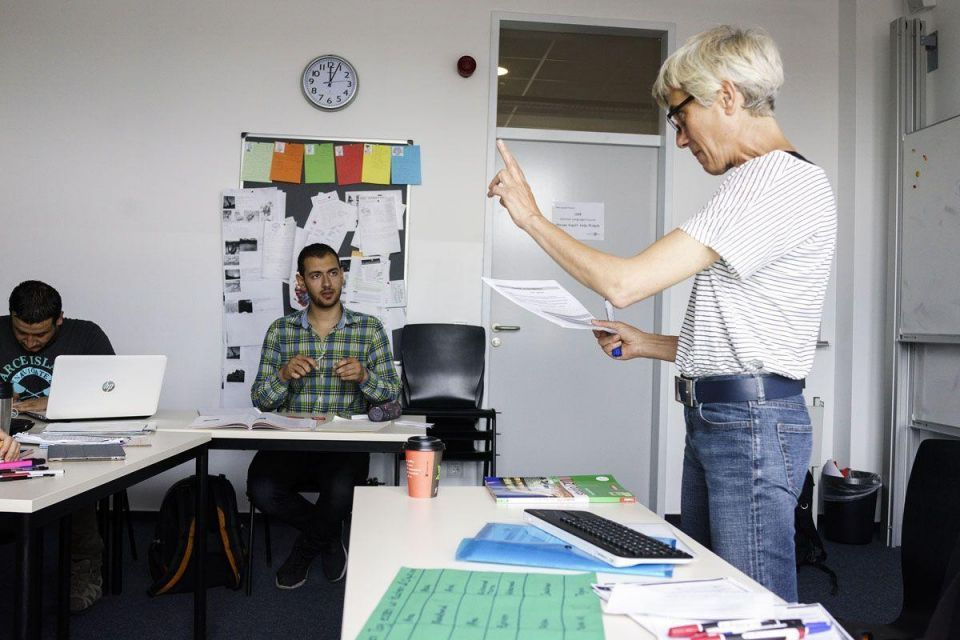 In pictures: Berlin university offers refugees study programs