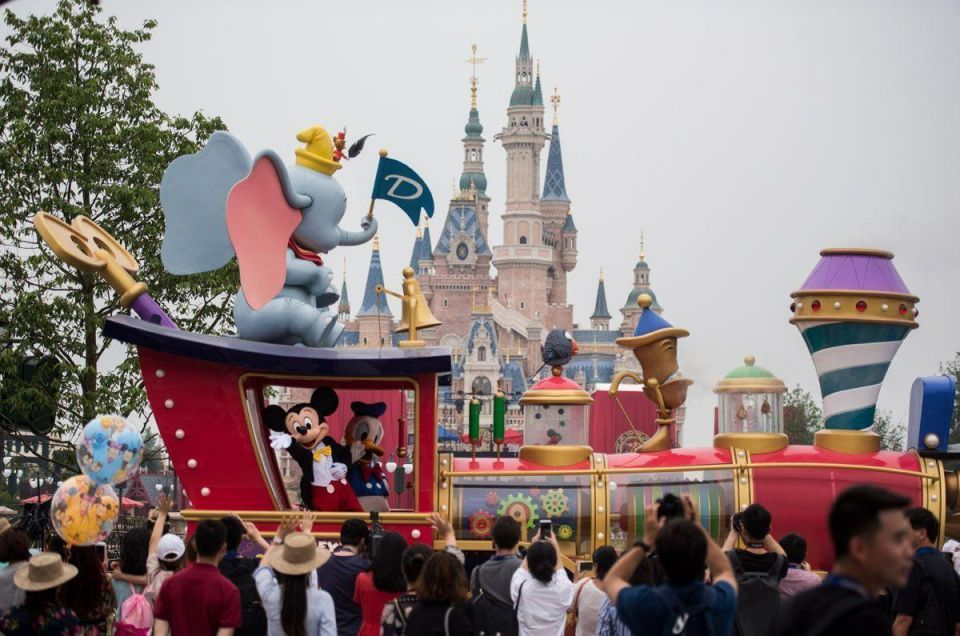 Disney opens its first theme park in mainland China this week