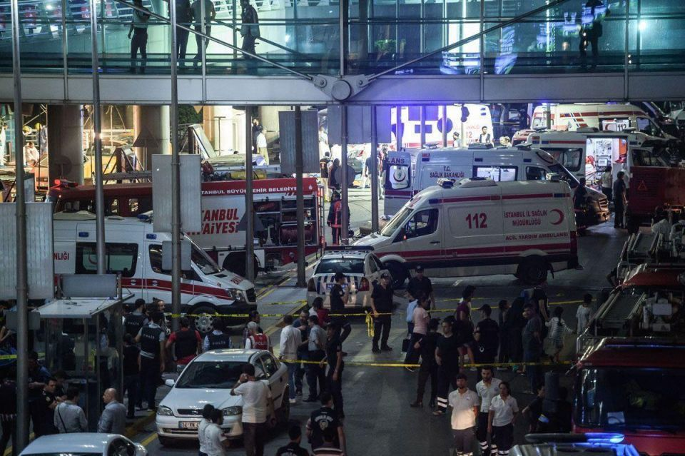 In pictures: Terrorists attack Istanbul airport