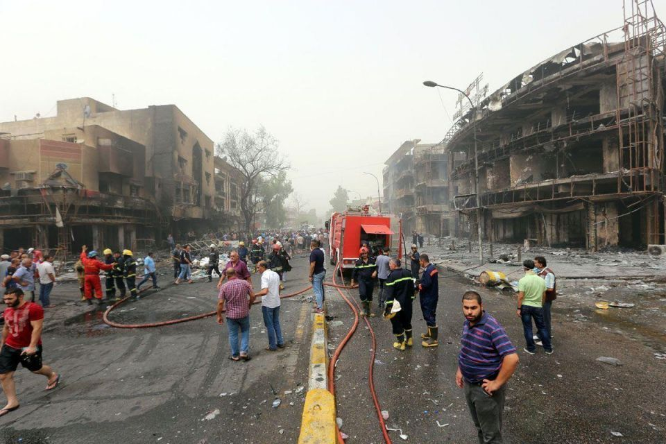 Nearly 120 killed in overnight Baghdad bombings