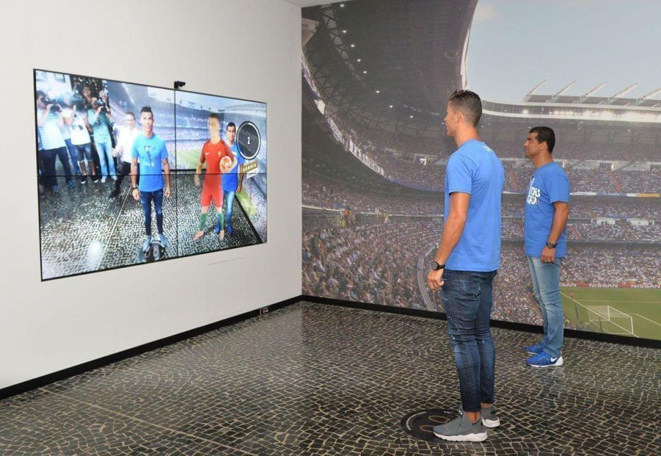 In pictures: Cristiano Ronaldo opens CR7 museum in footballer's hometown