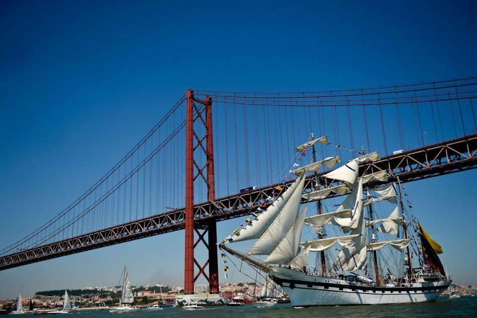 In pictures: Tall Ships race 2016 departs Lisbon