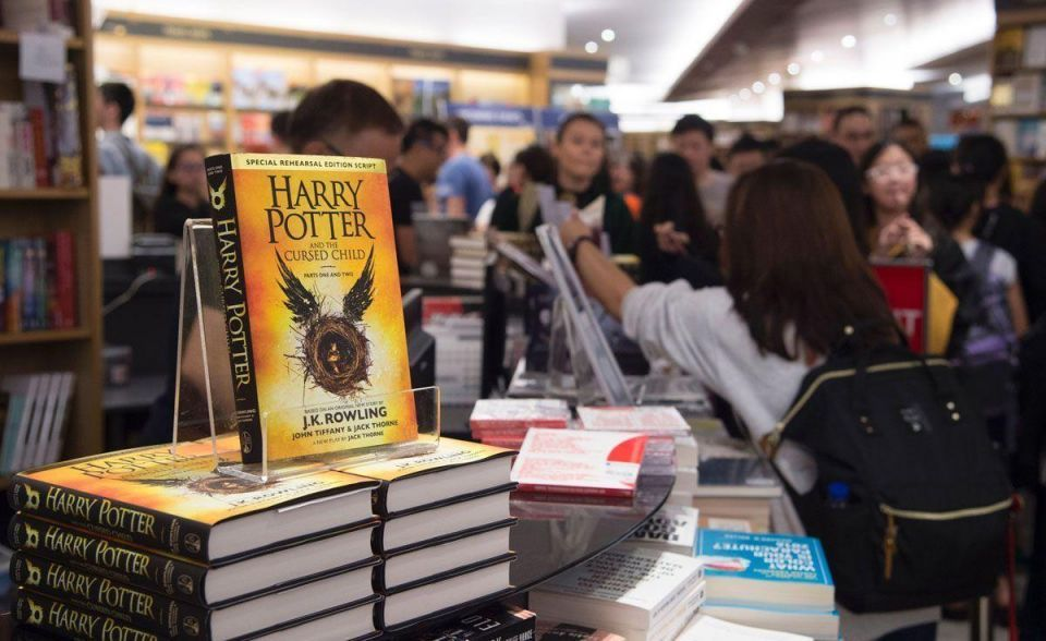 In pictures: New Harry Potter book launch