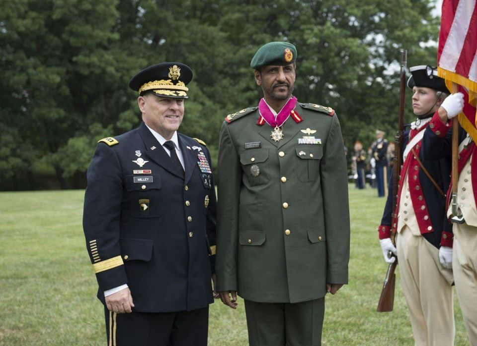 In pictures: UAE Armed Forces chief of staff on visit to the US