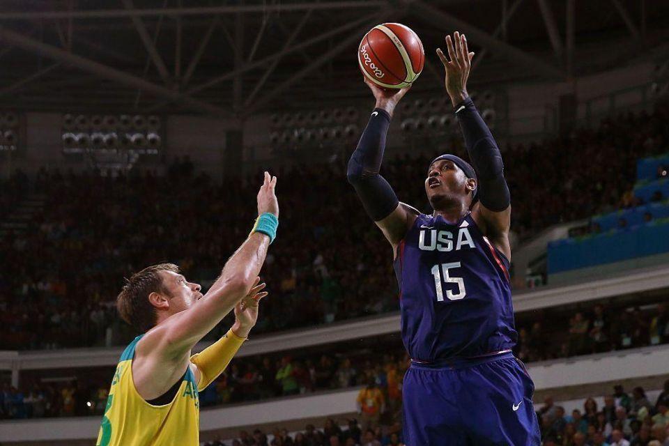 Unbeaten US survive Australia scare in basketball