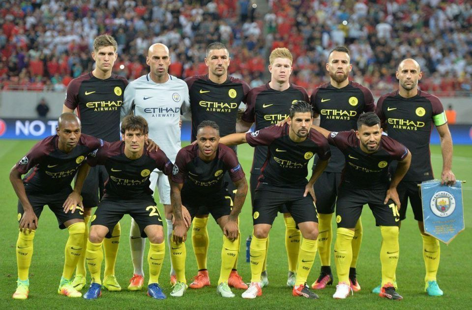 In pictures: Manchester City take big step towards Champions League group stages