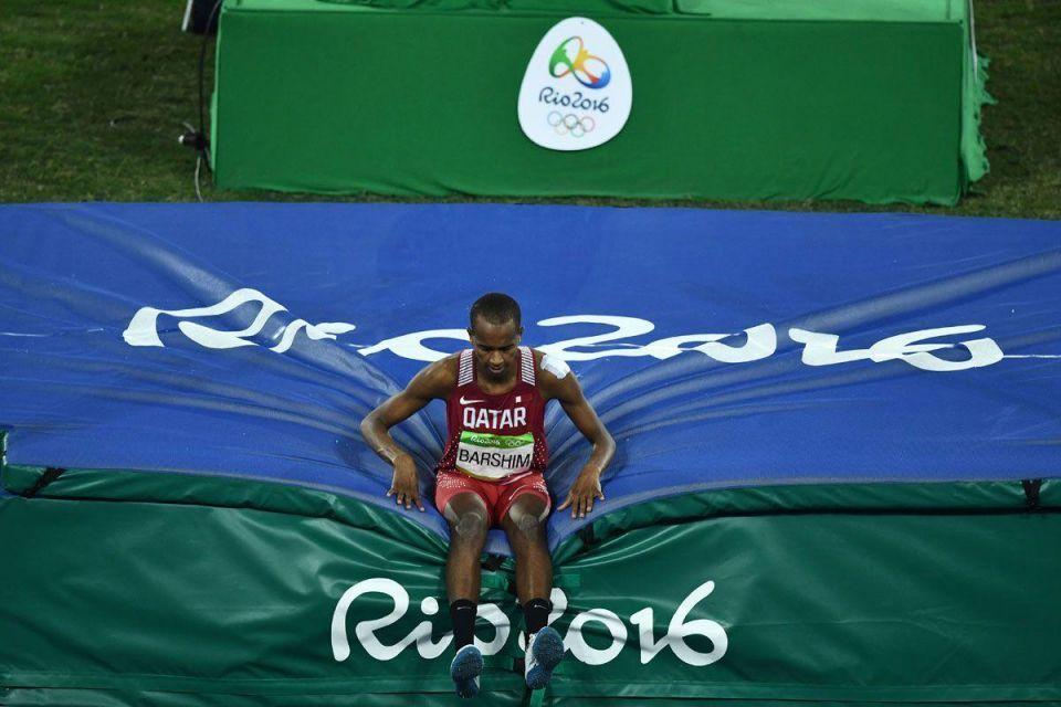 In pictures: Qatar's Mutaz Essa Barshim wins silver in men's high jump