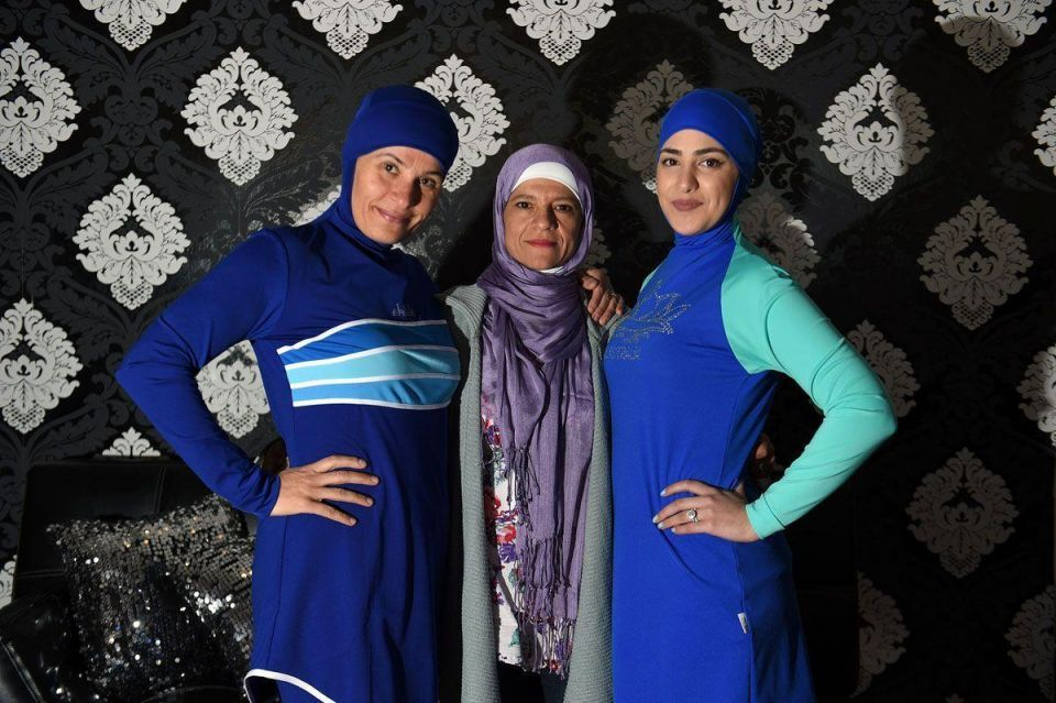 In pictures: Burkini swimsuit line launched in Sydney