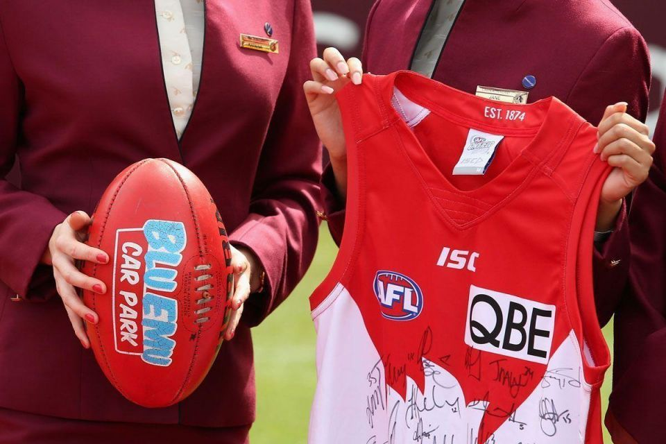 In pictures: Qatar Airways and Sydney Swans media announcement