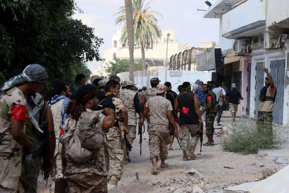 In pictures: Libyan forces push into last IS-held areas of Sirte