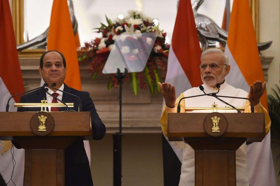 In pictures: Egyptian President Abdel Fattah El-Sisi visits India