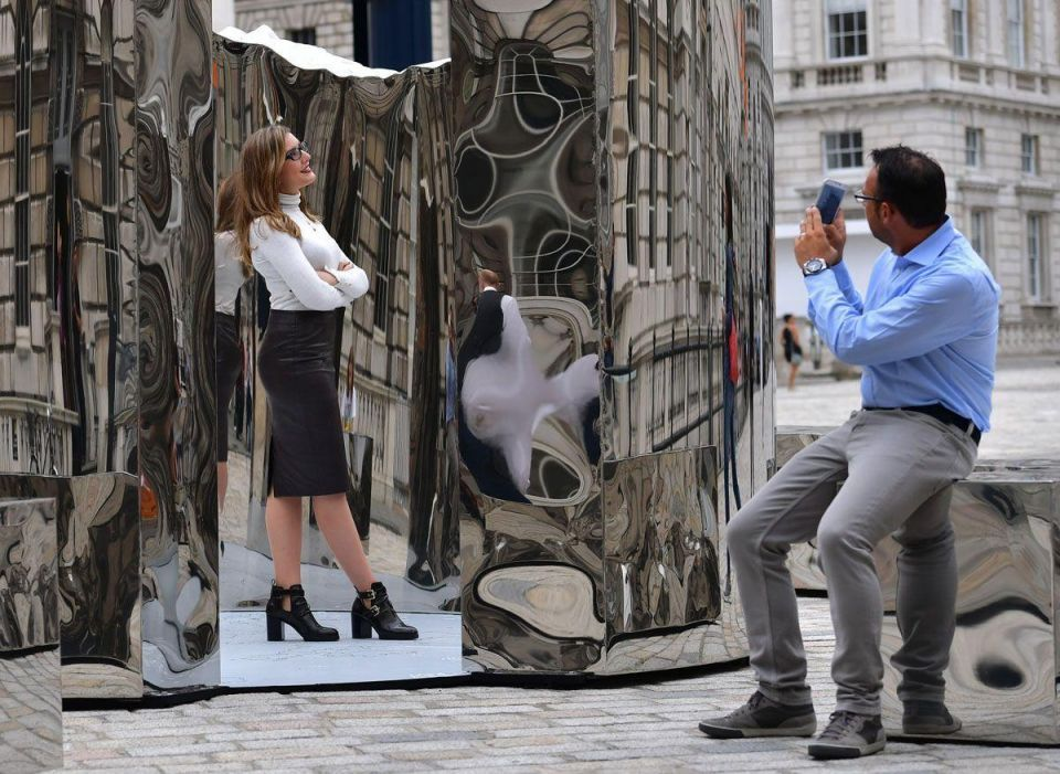 In pictures: The London Design Biennale takes place at Somerset House
