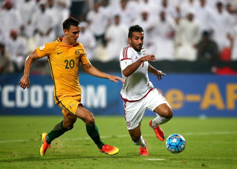 In pictures: UAE and Australia meet in World Cup 2018 Asia qualifying match