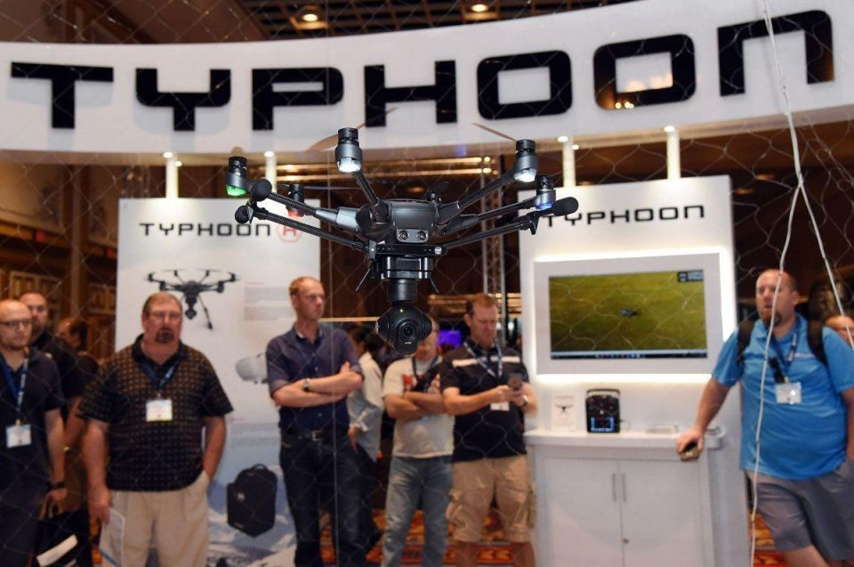 In pictures: InterDrone Conference for commercial drones held in Las Vegas