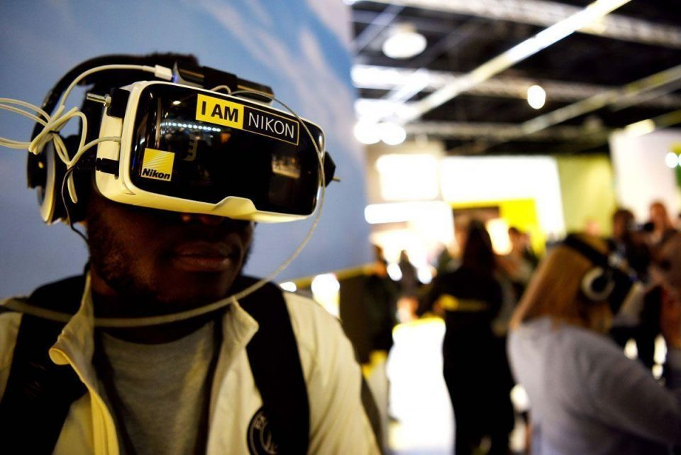 In pictures: Photokina trade fair in Cologne, Germany