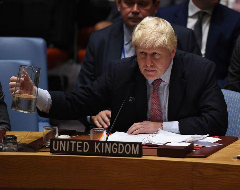 Boris Johnson urges GCC states to end Qatar boycott
