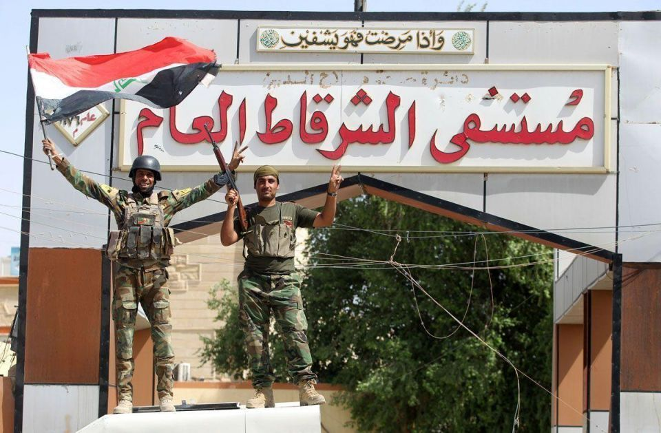 In pictures: Iraqi troops recapture Sharqat from IS