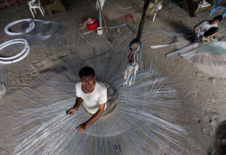 In pictures: UAE fishermen prepare traps