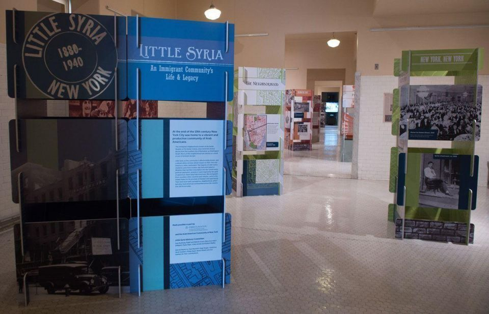 In pictures: Little Syria exhibition held at Ellis Island National Museum of Immigration