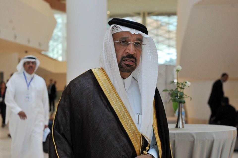 Saudi's Falih says non-OPEC countries willing to help balance oil market
