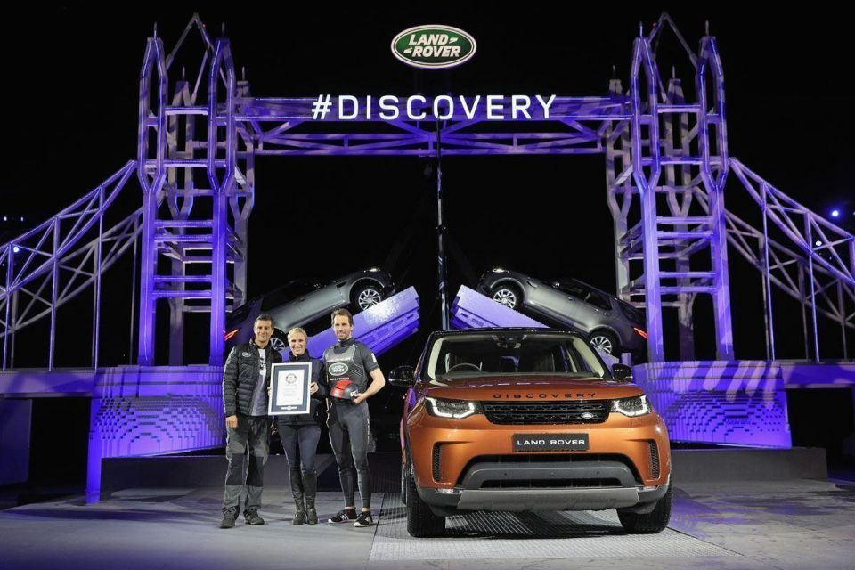 Land Rover unveil the new Discovery model