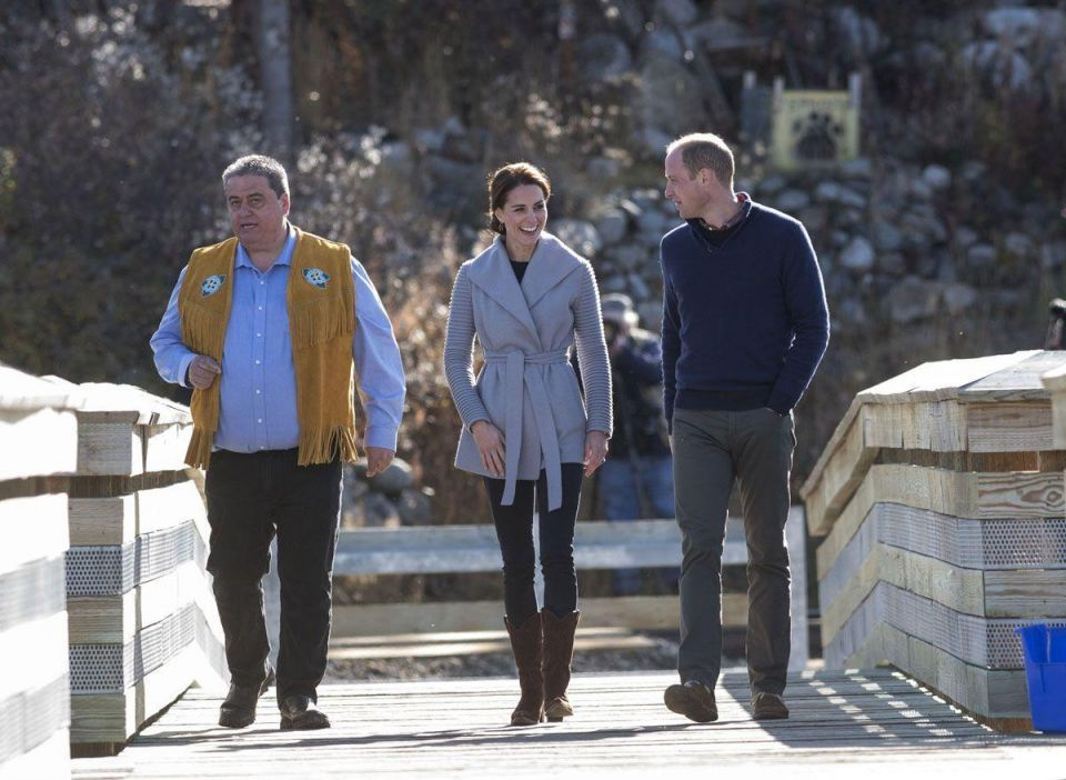 In pictures: The Duke and Duchess of Cambridge tour Whitehorse and Carcross, Yukon