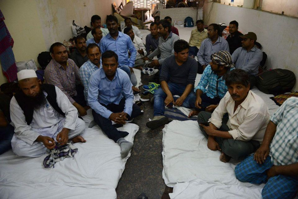 In pictures: Labourers from Saudi return to India