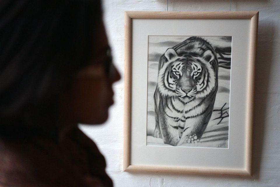 In pictures: Amnesty International host Death Row Art Exhibition