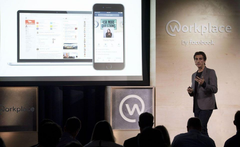 In pictures: Launch of Facebook at Work