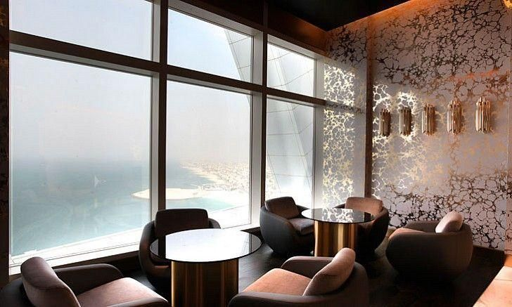 Inside Burj Al Arab new bar Gold On 27