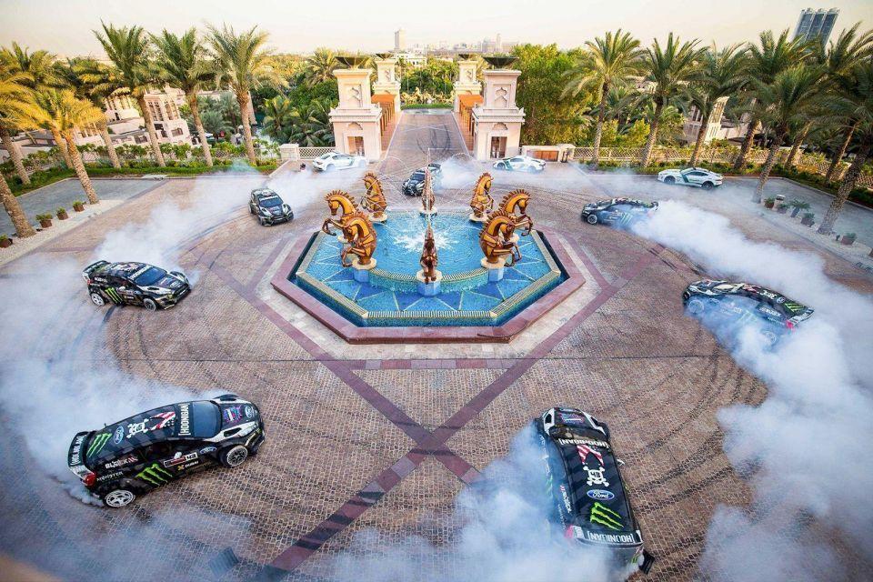 Ken Block's Gymkhana Eight in Dubai