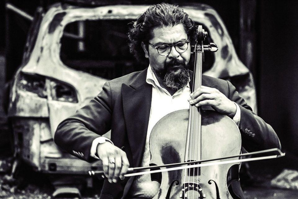 'I play music to create hope, to help people who have no past, present or future': The extraordinary tale of the Iraqi cellist fighting bombs with music