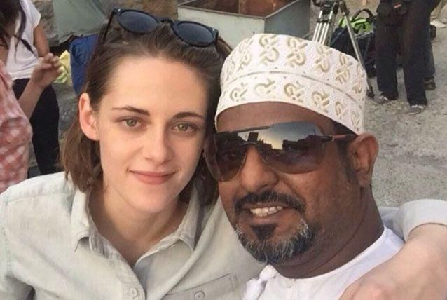 Actress Kirsten Stewart spotted filming new movie in Oman