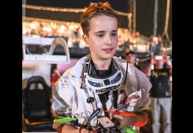 15-year-old British pilot wins first Dubai World Drone Prix