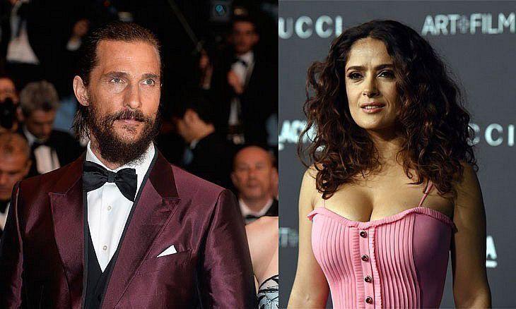 Matthew McConaughey and Salma Hayek to attend Dubai gala dinner