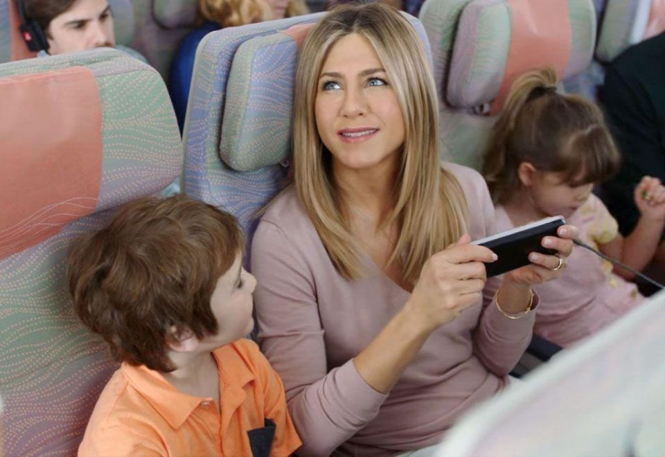 Emirates pays Jennifer Aniston $5m for new A380 advert