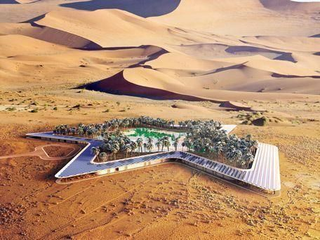 Dubai firm unveils plan for world's greenest eco resort