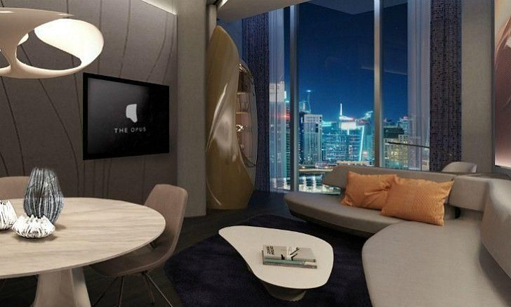 In pictures: Inside the futuristic Dubai hotel designed by Zaha Hadid