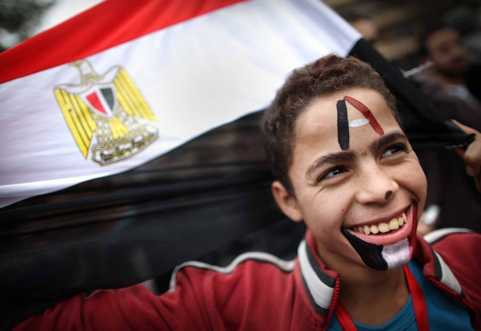 Riot police fills streets as Egypt braces for austerity protests