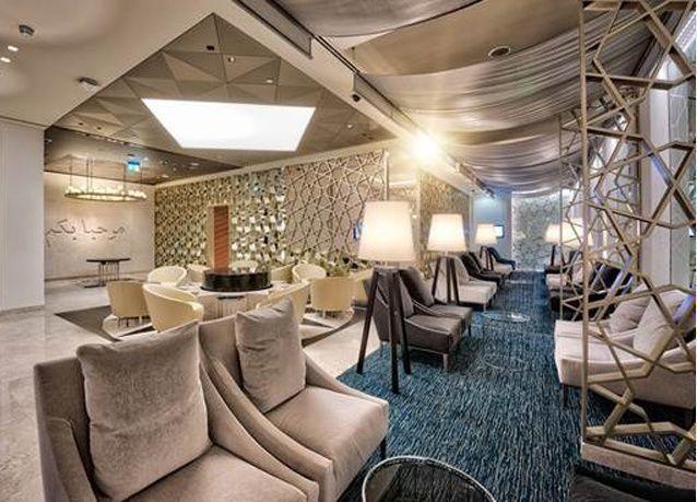 Photos: Qatar Airways' new lounge in Dubai International