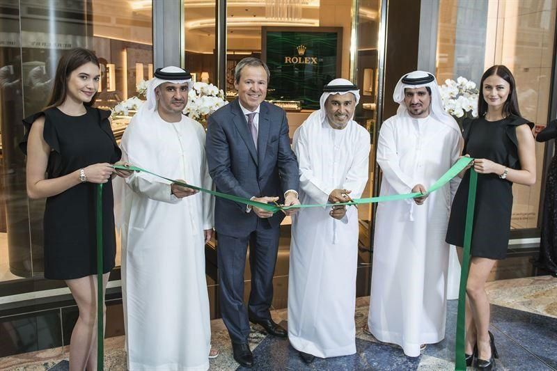 Luxury retailer Rolex re-opens Mall of Emirates boutique