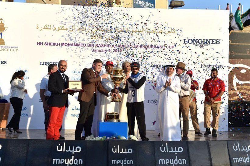 Dubai's Sheikh Hamdan wins Endurance Cup