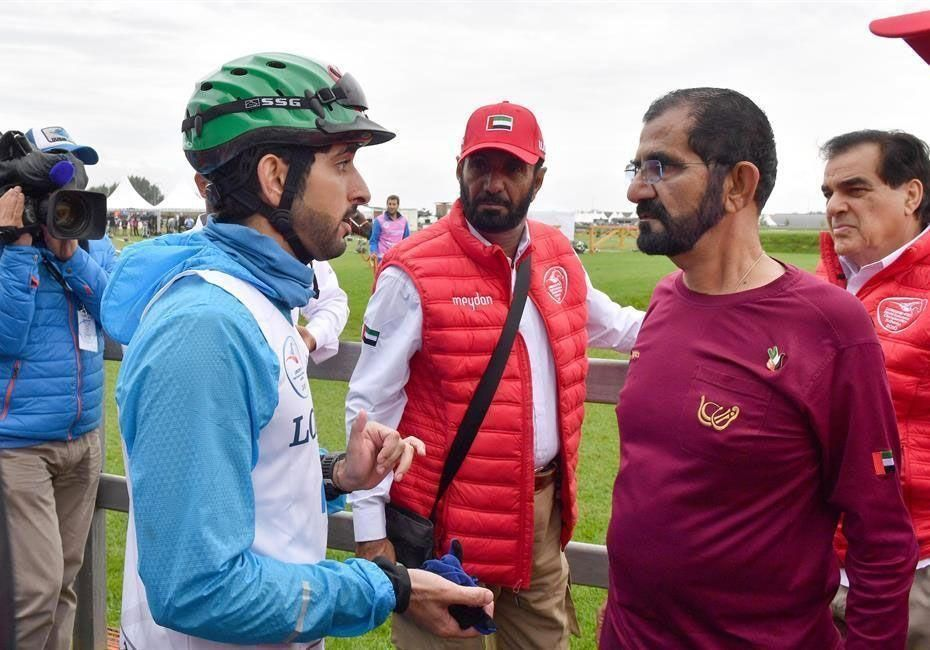 In pictures: Sheikh Mohammed attends World Endurance Championship