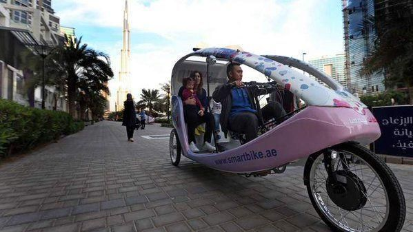 New Smart Bike transport concept launched in Dubai