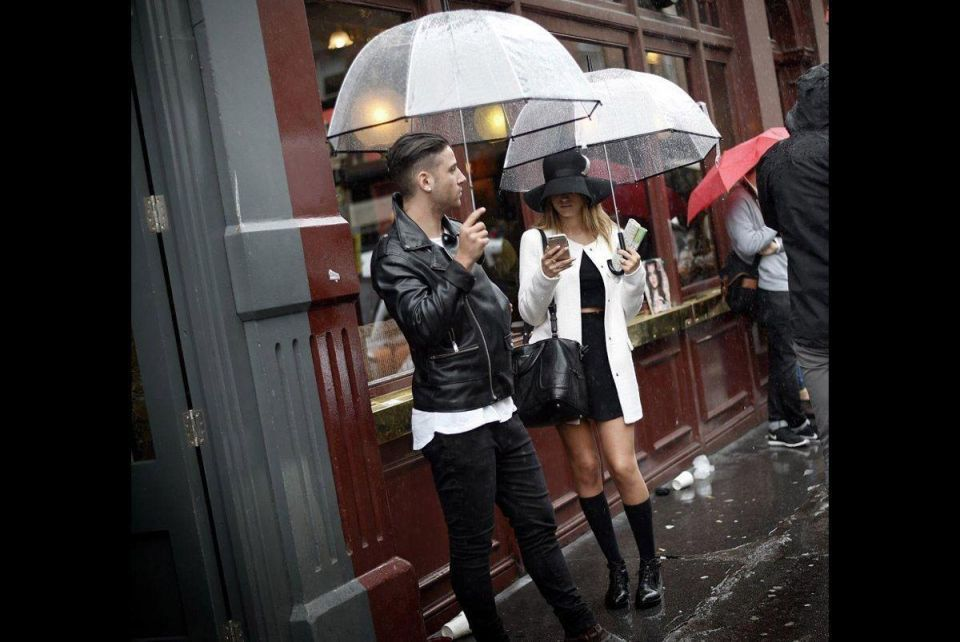 Stylish in the rain: how to dress for this weather